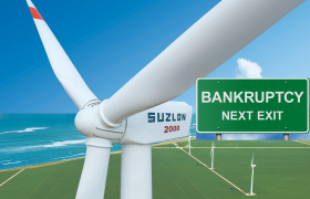 Debt-Ridden Suzlon Energy, Suzlon Group, Wind Turbine Manufacturer, Bankruptcy Court, National Company Law Tribunal, Suzlon's Corporate Communication, Suzlon Energy, Suzlon Energy Stock, Suzlon Energy Defaults, Suzlon Energy Defaults On Bond Payment, Brookfield, Suzlon Brookfield Talks, Suzlon MD Tulsi Tanti, Suzlon Debt, Suzlon Working Capital Debt, Sujlon Stake Sale, Suzlon Brookfield Deal, Suzlon Group Debt, Suzlon, Suzlon's Group, Suzlon's Group Largest Shareholder, Sun Pharmaceuticals Promoter, Dilip Shanghvi, Suzlon's Market Capitalisation