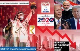 Nifty, Sensex, NSE, BSE, Wall street, Dow Jones, Nasdaq, S&P 500, Indian Stock Market, United States Market, Jim Cramer, Indian Equity Market, Elections Impact, Donald Trump, Joe Biden, Mike Pence, Kamala Harris, American President, Stock Exchanges, BSe sensex, Election Year, Bihar Elections, Nitish Kumar, Narendra Modi, Indian State elections, Gold, Silver, Dollar, Forex, Bitcoin, Money Markets, Value Investing, Growth Stocks, Volatile Markets, Asian Equities, Dalal Street